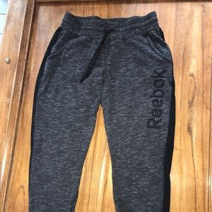 Reeboks women's sweatpants size small